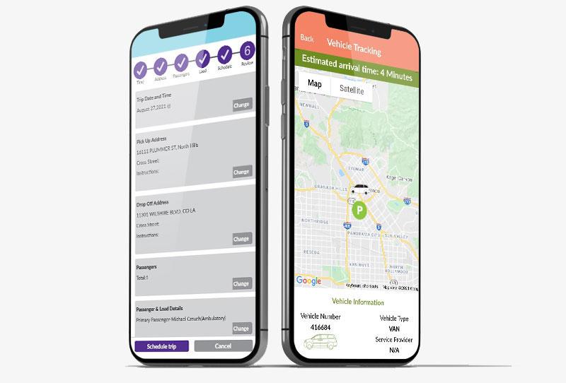 Where's My Ride device screenshot